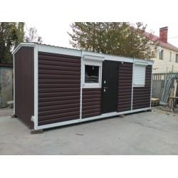Уютный дачный домик от производителя 15. м. кв.