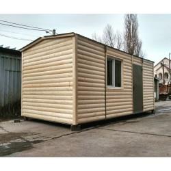 Тёплый и просторный дачный домик 6x3 м.