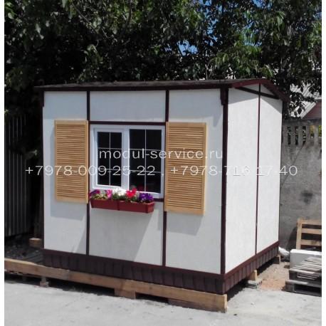 Гостевой домик 7,5 м²
