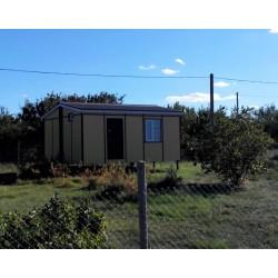 Жилой модульный дом на 30 м² (art. 0102)