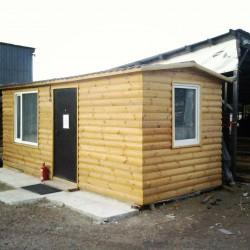 Дачный домик или Офис 15 м²