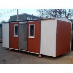 Строительный вагончик 15 м² (art. 0011)