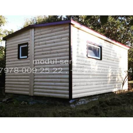 Жилой модульный дом на 24 м²