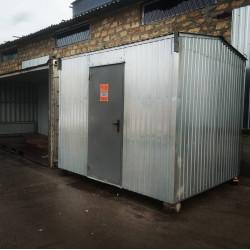 Модуль-бытовка санитарного обеспечения