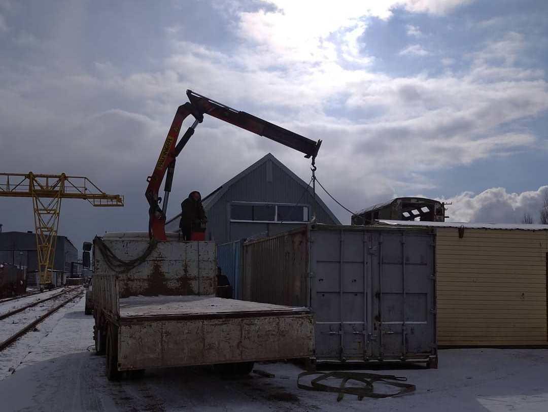 Монипулятор контейнер 20 фут в Симферополе