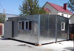 Жилой модульный дом в Симферополе