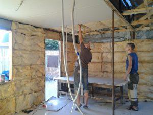 Вагон-бытовка: этапы строительства